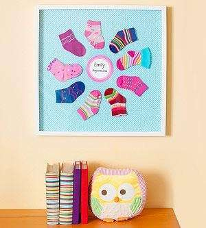 Create wall art for your child's room using