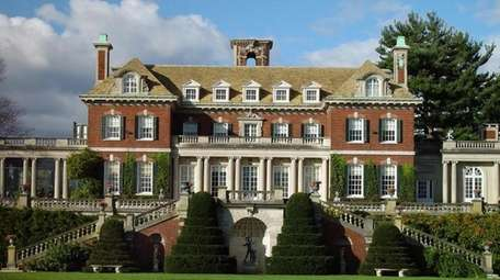 Westbury House is located on the 200-acre Old