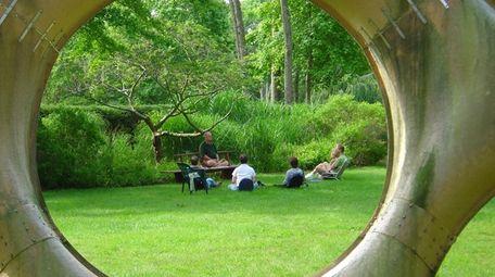 Sound Meditation on the grounds of LongHouse Reserve