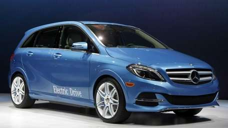 The 2014 B-Class Electric Drive Mercedes Benz is