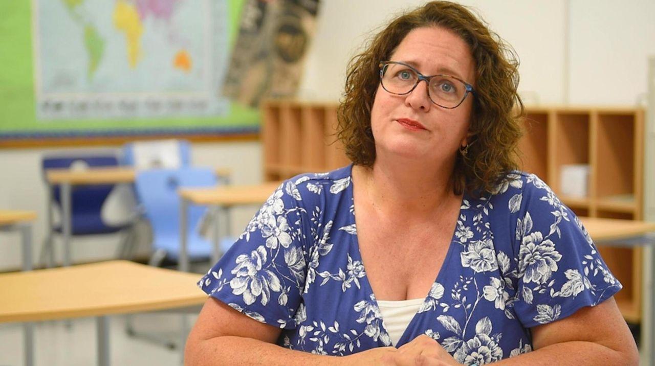 Jennifer Wolfe, an Oceanside social studies teacher, has