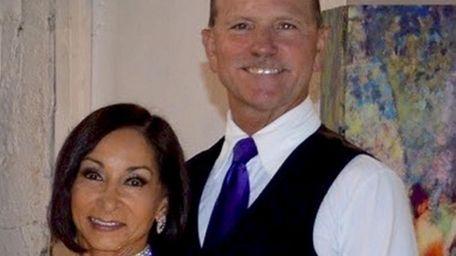 Estella and Bob Clasen participate in a virtual