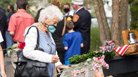 Kay Thomas of Smithtown remembers her friend, FDNY
