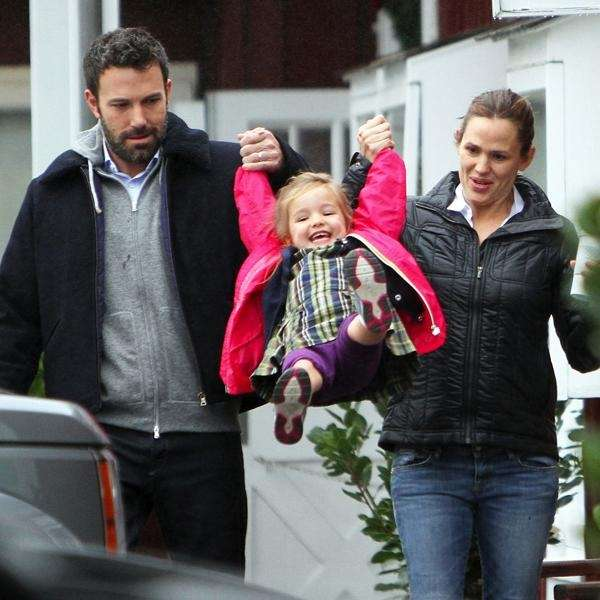 Ben Affleck, seen with wife Jennifer Garner and