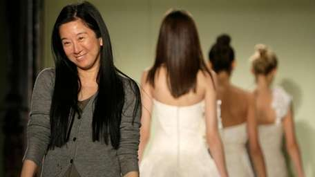 Vera Wang after her collection of bridal wear