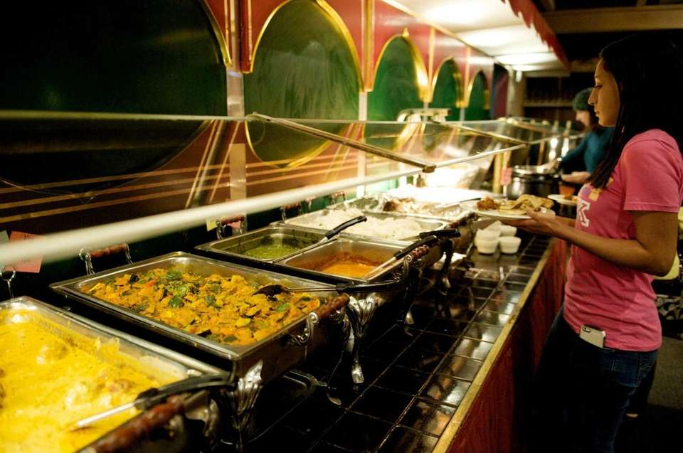 The Curry Club's all-you-can-eat buffet. (March 20, 2013)