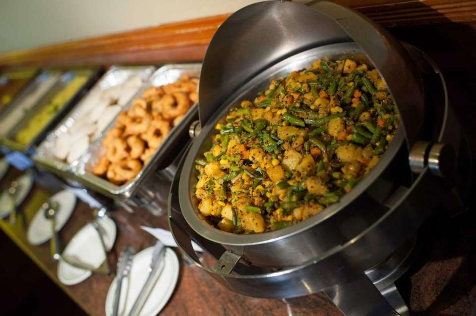Chennai Dosas offers vegetarian buffet options. (March 14,
