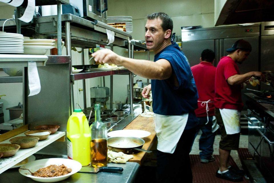 Joseph LoMonaco, the chef at the Sea Cove