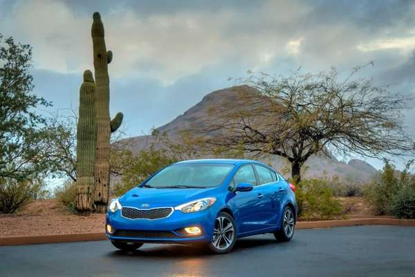 Prices for the Kia Forte EX start at