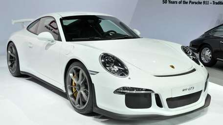 The new Porche 911 GT3 at the 2013
