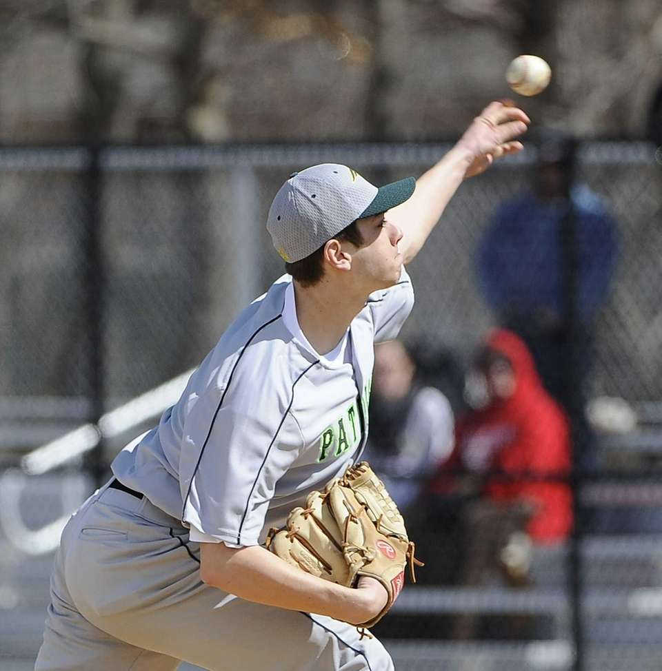 Ward Melville pitcher Anthony Kay threw a complete
