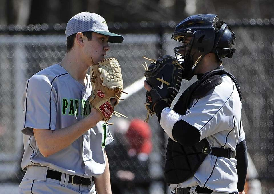 Ward Melville catcher Kyle Pedroli comes out to