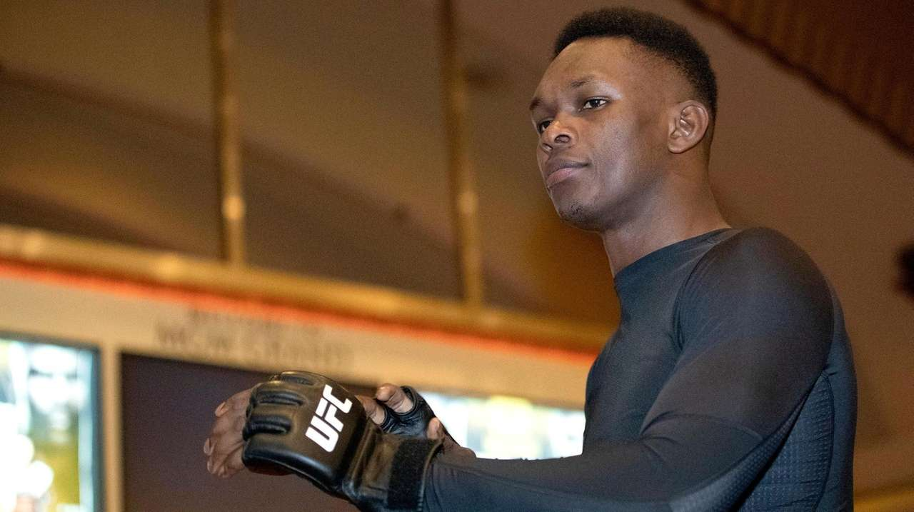 UFC middleweight champion Israel Adesanya and contender Paulo
