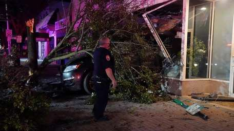 Long Beach police and firefighters responded to a