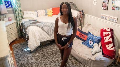 University of Pennsylvania freshman Sydney Grant, 18, in