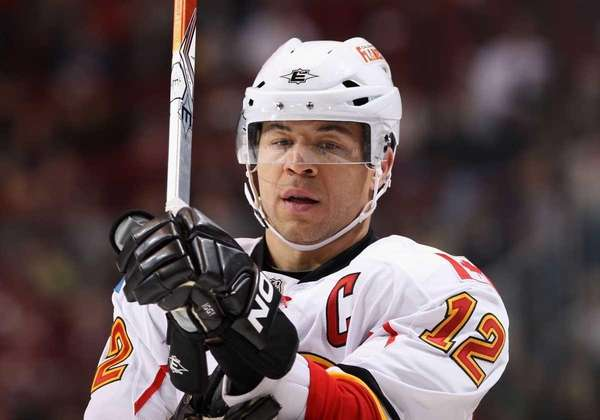 Jarome Iginla was traded to the Penguins.
