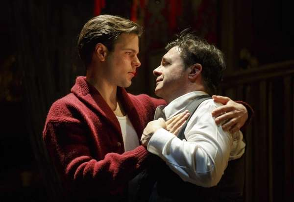 Jonny Orsini and Nathan Lane in Douglas Carter