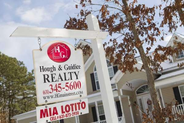 A home for sale in Yaphank. From Jan.