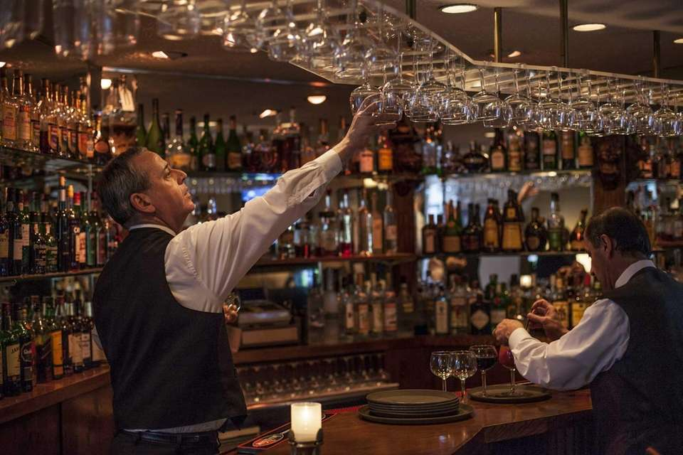 Benny's in Westbury features an intimate dining room