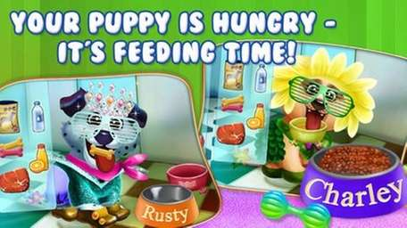 The Puppy Dog Sitter iPhone and Android app