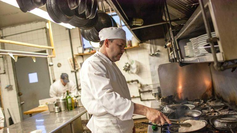 Jose Sorto has been executive chef at Benny's