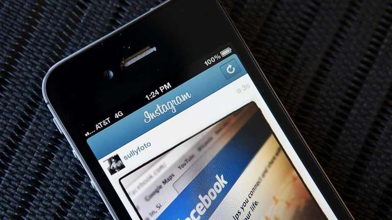 Instagram is a mobile photo-sharing app. (April 9,