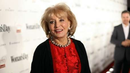 Barbara Walters attends the Woman's Day 8th Red