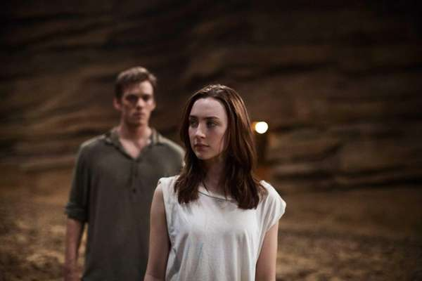 "Jake Abel and Saoirse Ronan star in ""The"