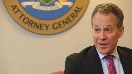 New York State Attorney General Eric Schneiderman speaks