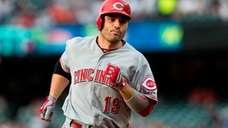 Joey Votto #19 of the Cincinnati Reds