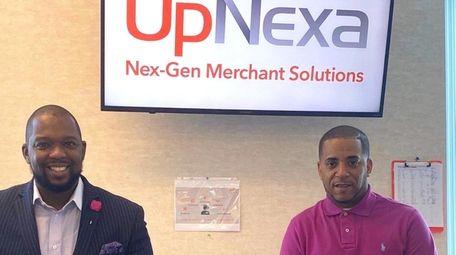 Jeremy Kersaint, VP of sales at UpNexa, left,
