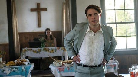 """Robert Pattinson as Preston Teagardin in Netflix's """"The"""