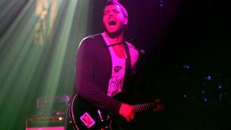 Rock artist (and Dix Hills' native) Ryan Star,
