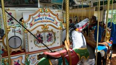 Nunley's Carousel, which was housed on Museum Row
