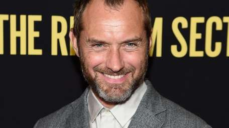 Actor Jude Law announced that he's a father