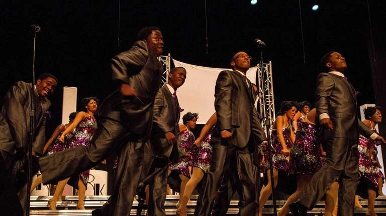 Uniondale High's 52 singers reigned in the recent