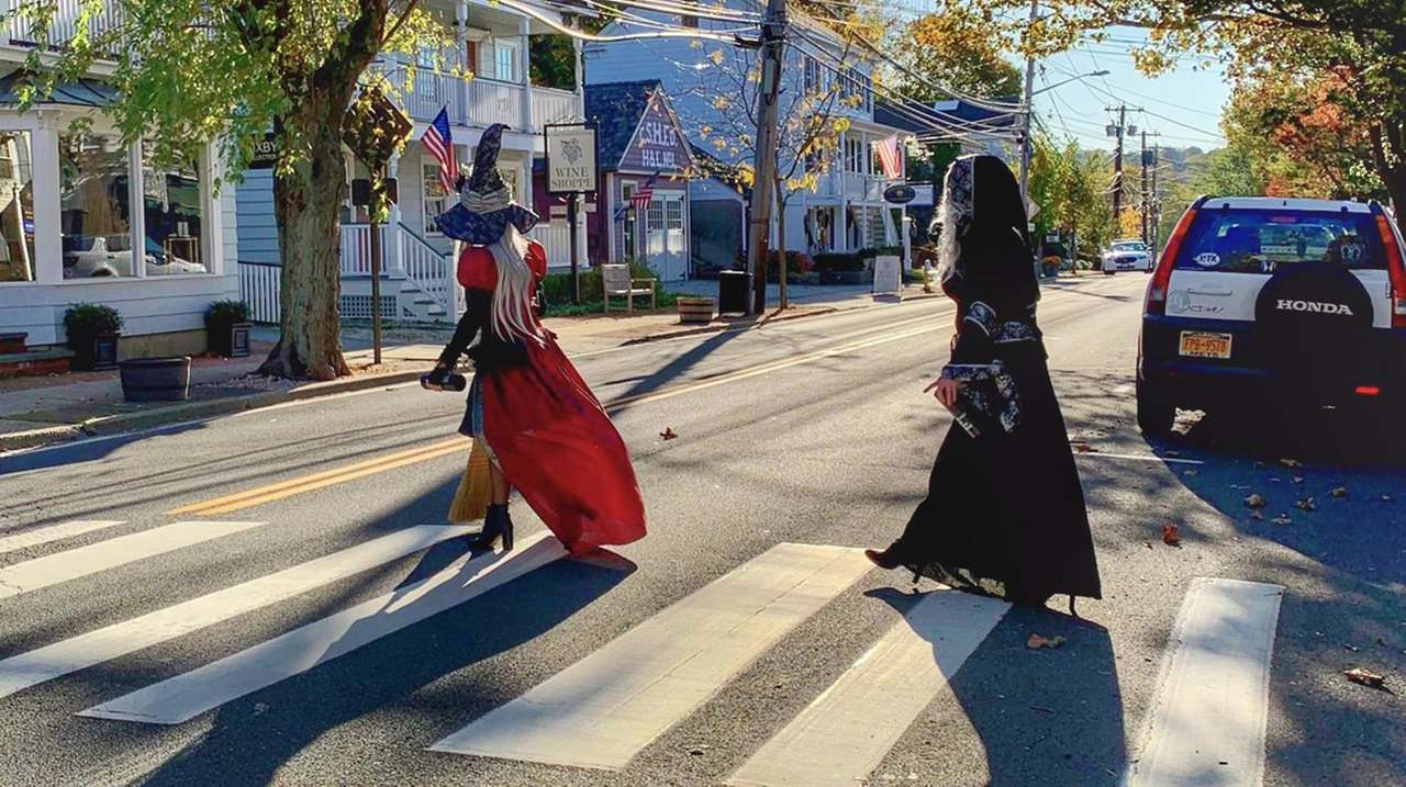 'Witches Night Out' expands to weeklong shopping crawl in LI village