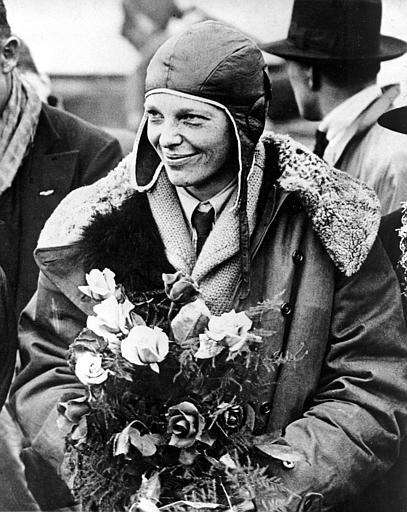Amelia Earhart (July 24, 1897 - Jan. 5,