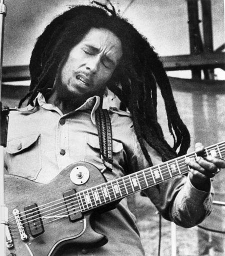 Bob Marley (Feb. 6, 1945 - May 11,