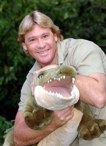 Steve Irwin (Feb. 22, 1962 - Sept. 4,