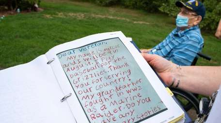 Eleven boys have written to Frank Sidoti, telling