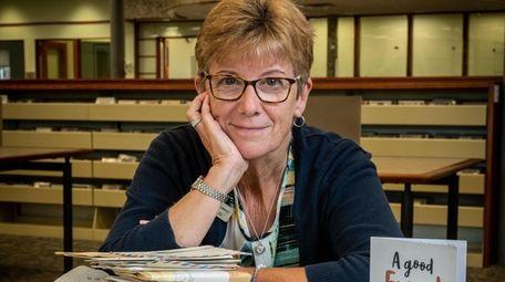Librarian Maryellen Cantanno, who heads the pen-pal program