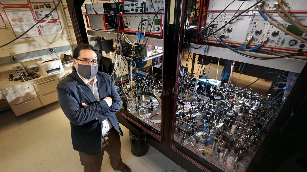 Stony Brook University physicist Eden Figueroa is among