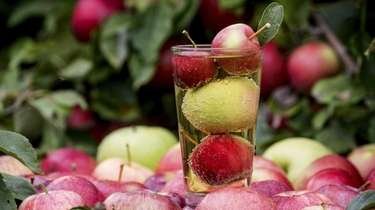 Jamesport's Woodside Orchards has a tasting room in