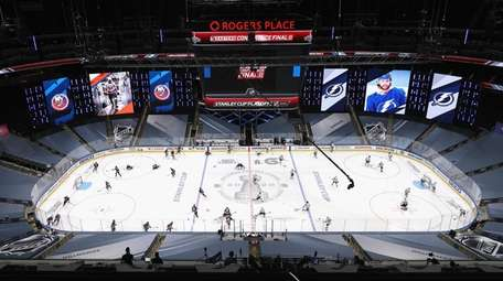 The New York Islanders and the Tampa Bay