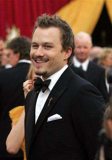 Heath Ledger (April 4, 1979 - Jan. 22,