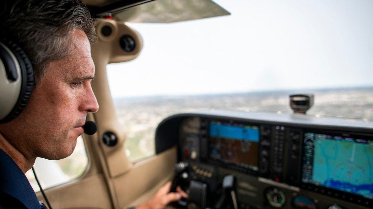 Peter Clark, co-owner of Long Island Aviators, said