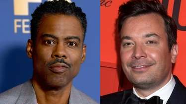 "Chris Rock, left, said ""Tonight Show"" host Jimmy"