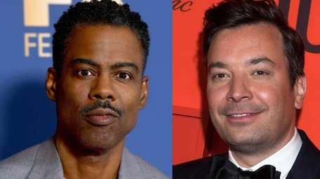 "Chris Rock, left, said ""Tonight Show"" host Jimmy"