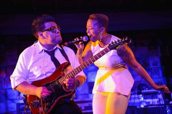Chrisette Michelle performs during BET Music Matters Showcase